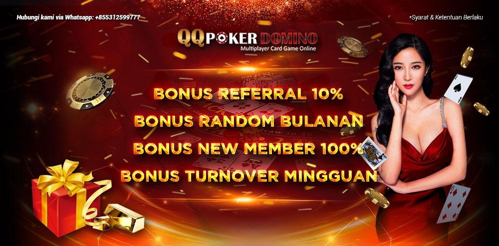 Bonus Qq poker domino